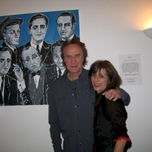 Ray Davies and Gina Bold with 'Half a Dozen Songwriters'